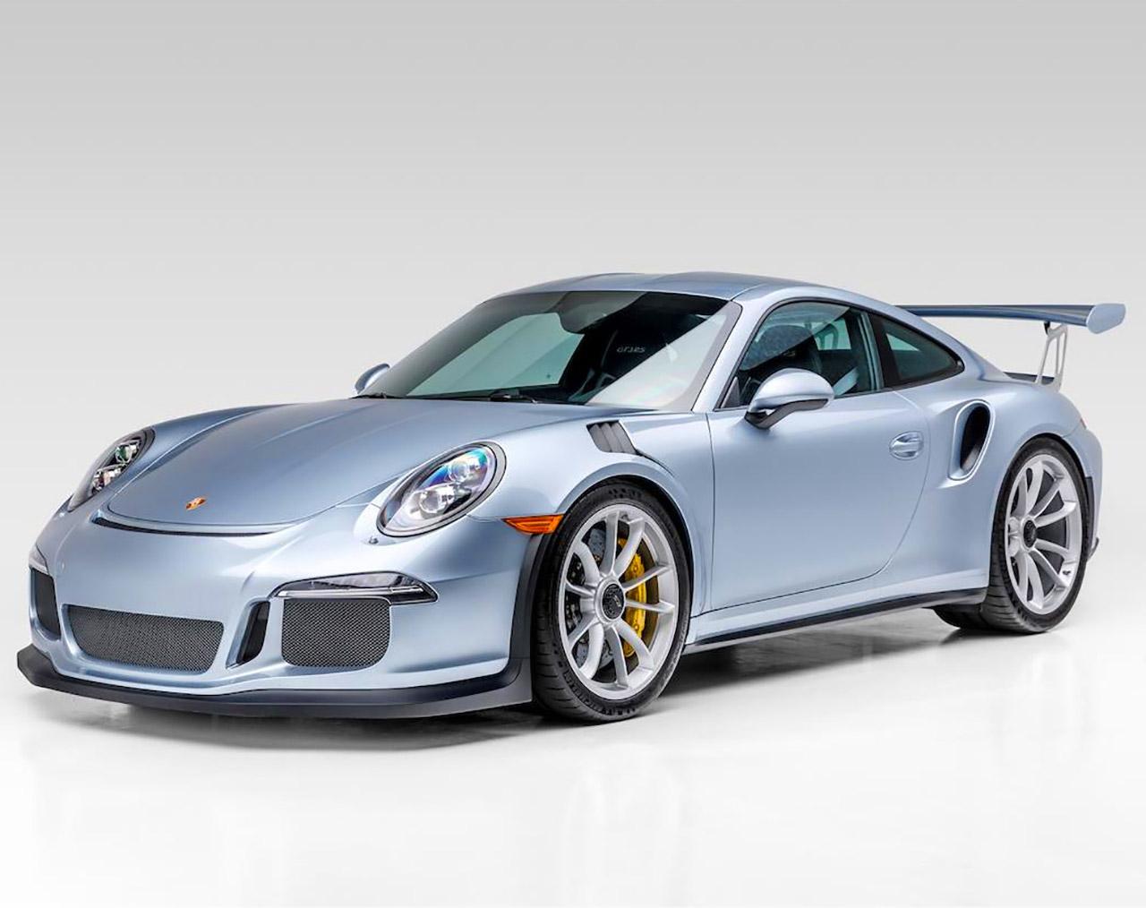Jerry Seinfeld Blue Porsche 911 GT3 RS