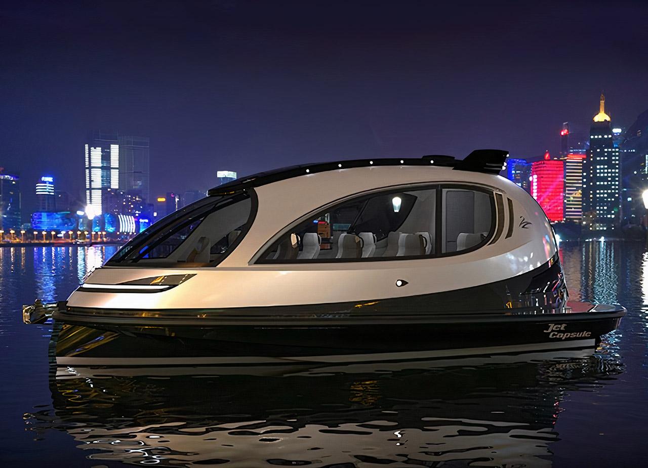 Jet Capsule LX 2.0 DuePuntoZero Mini Yacht