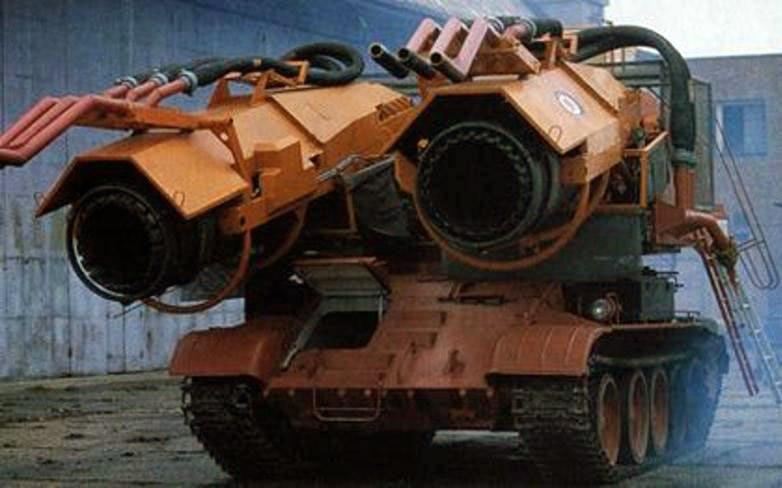 Jet Engines Tank Fire
