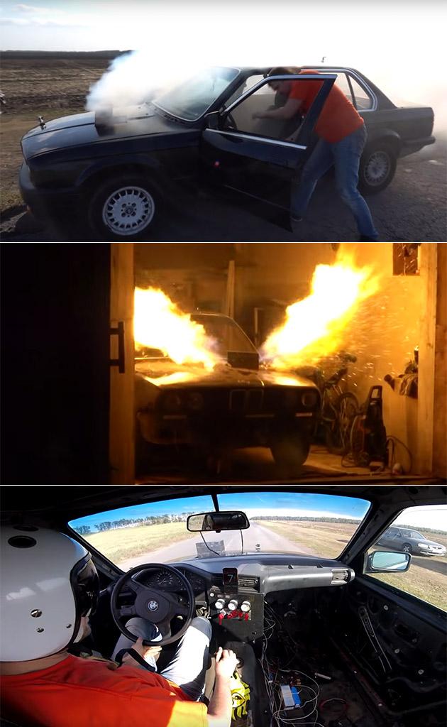 Jet-Powered BMW