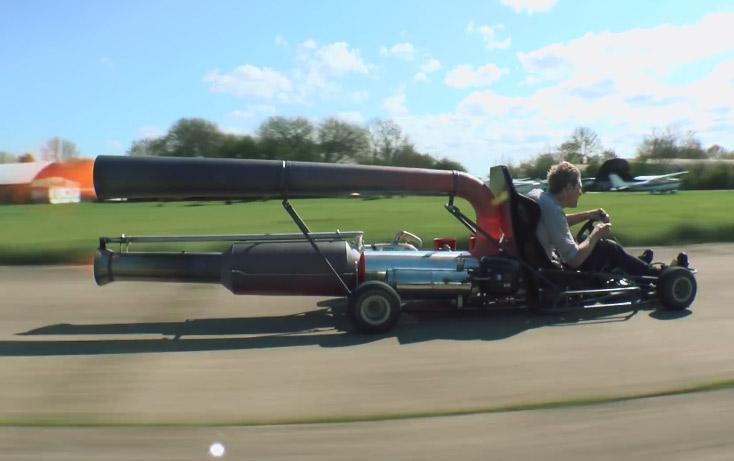 Jet Powered Kart
