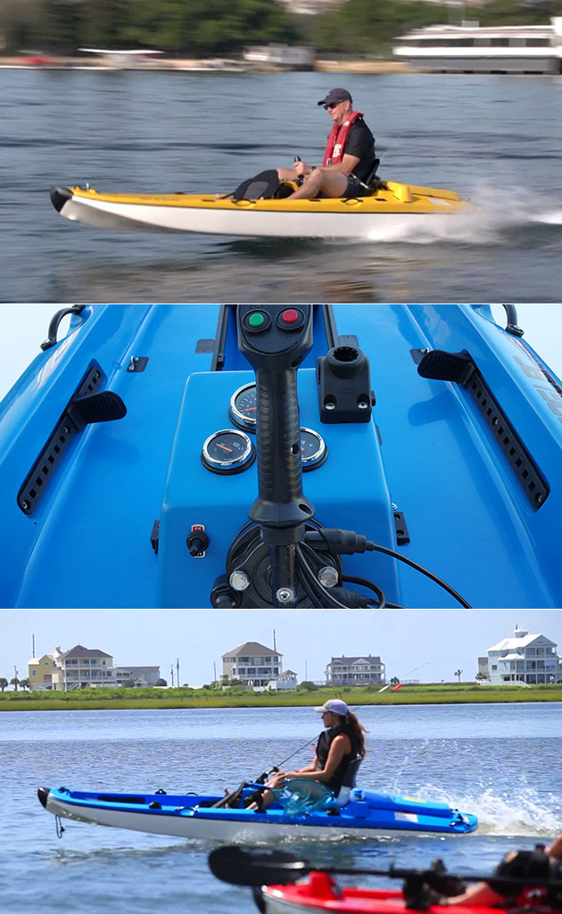 Jet-Powered Kayak