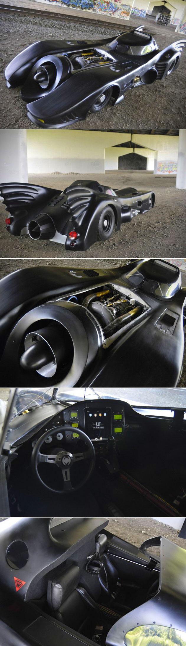 Jet Powered Batmobile