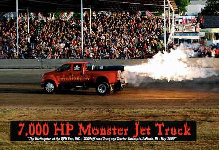 The Frictionator: A 7000HP Street-Legal Jet Truck - TechEBlog