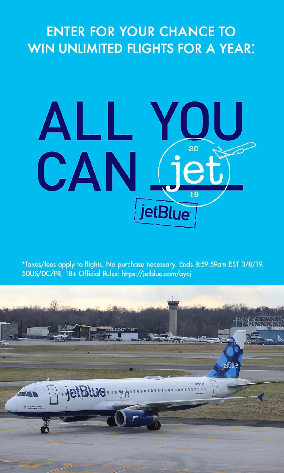 JetBlue Instagram All You Can Jet
