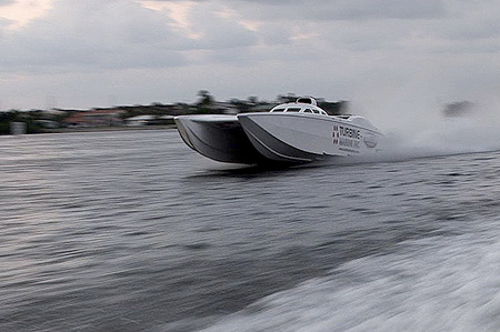 coke speedboat
