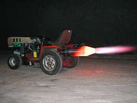 Jet Lawn Mower