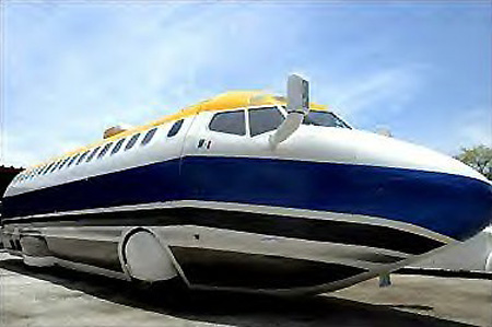 Feature World S Only Street Legal Boeing 727 Jet Limo