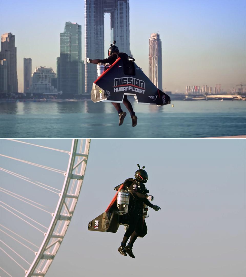 Jetman Vince Reffet Dubai