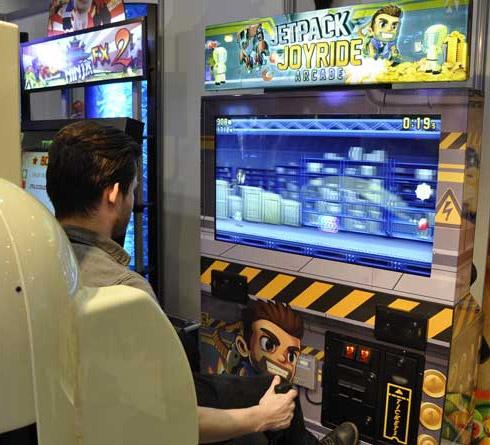 Jetpack Joyride Arcade Machine