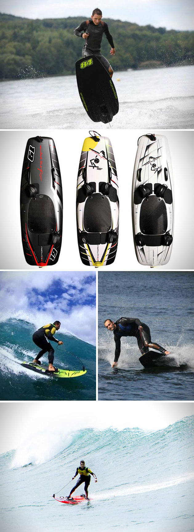 JetSurf Jet-Propelled Surfboard