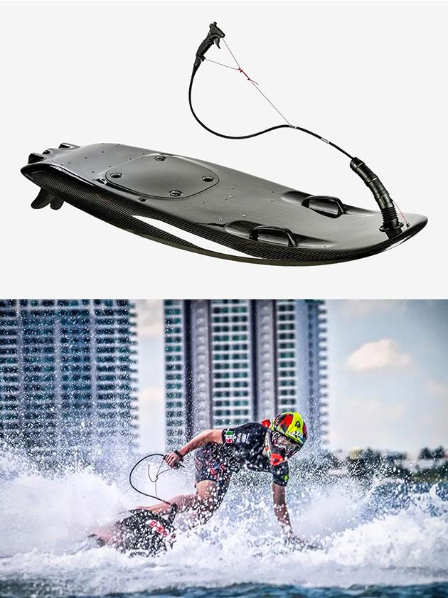 JetSurf Race Titanium Surfboard