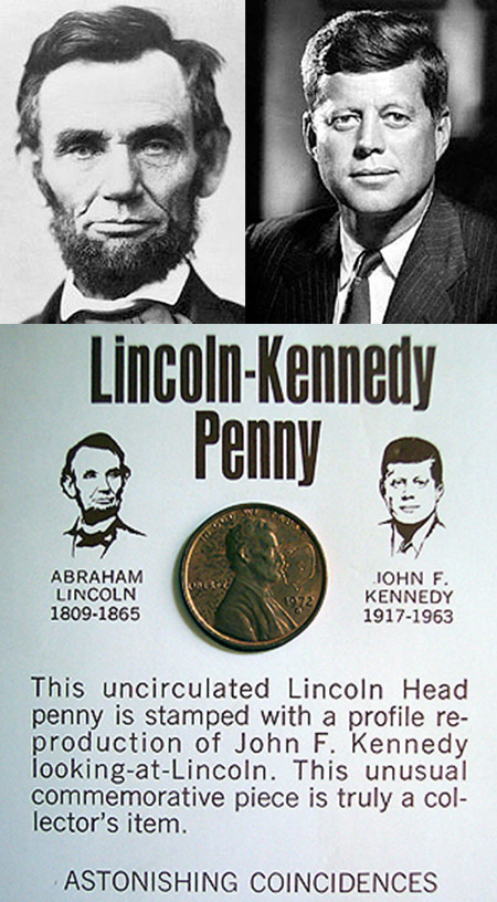 the interesting similarities between john f kennedy and abraham lincoln --tad lincoln and john f kennedy, jr, both had birthdays near the time of their father's assassination  jack until he proved worthy of the name of abraham lincoln, but jack died at 19.