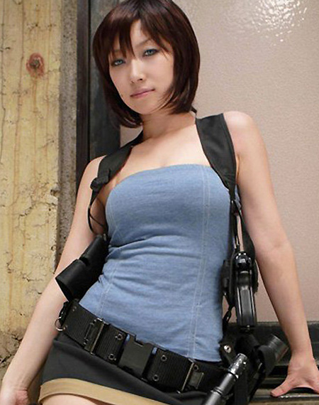 Incredible Jill Valentine Cosplay Techeblog