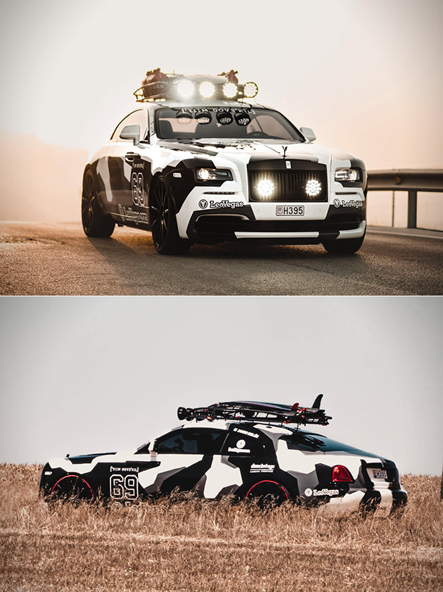 Jon Olsson Rolls Royce Wraith