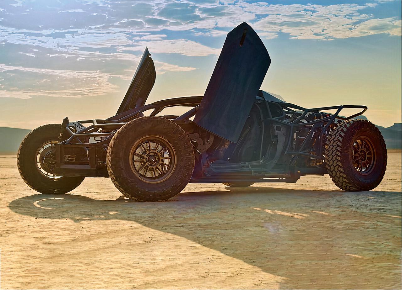 Jumpacan Off-Road Lamborghini Huracan Mint 400 Race Las Vegas