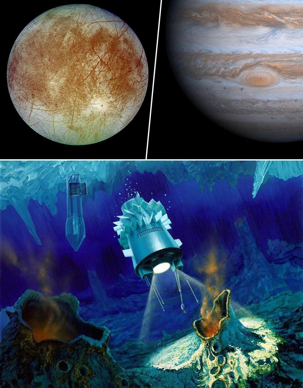 Jupiter Extraterrestrial Life Moon Europa