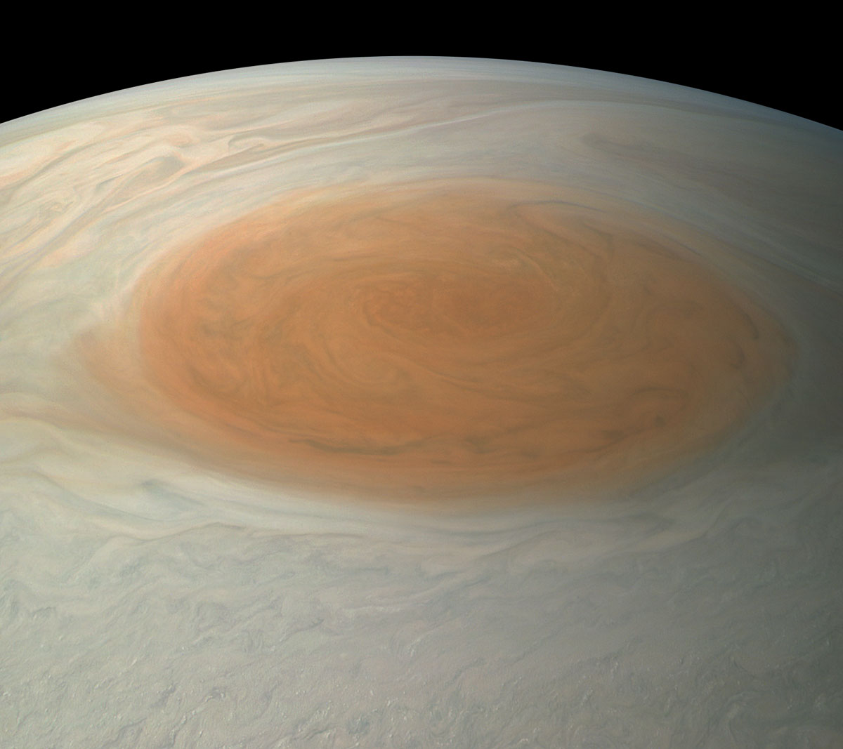 Jupiter Juno Great Red Spot