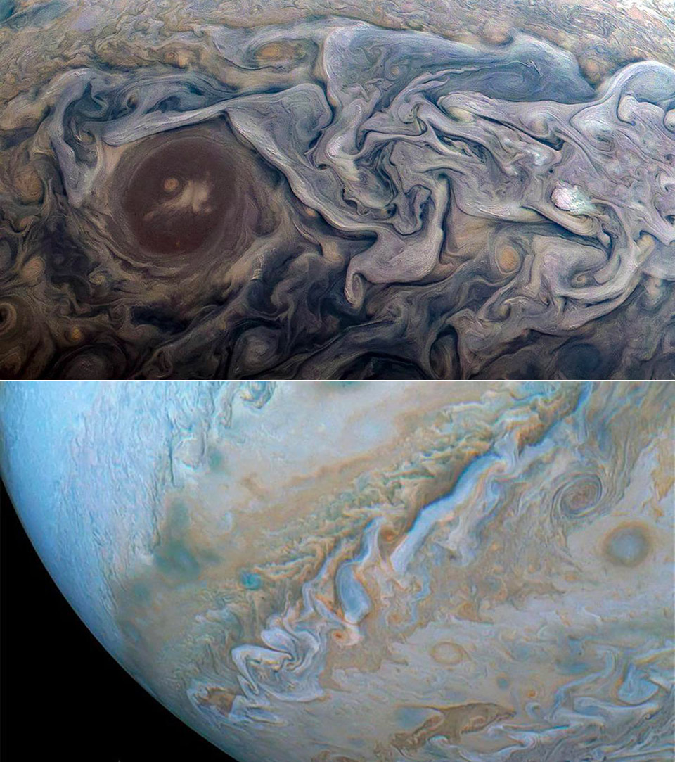 Jupiter NASA Van Gogh