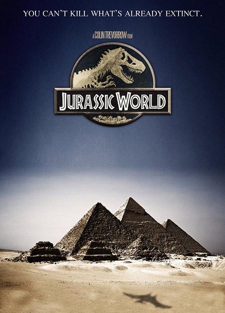 Jurassic World Official Trailer Poster