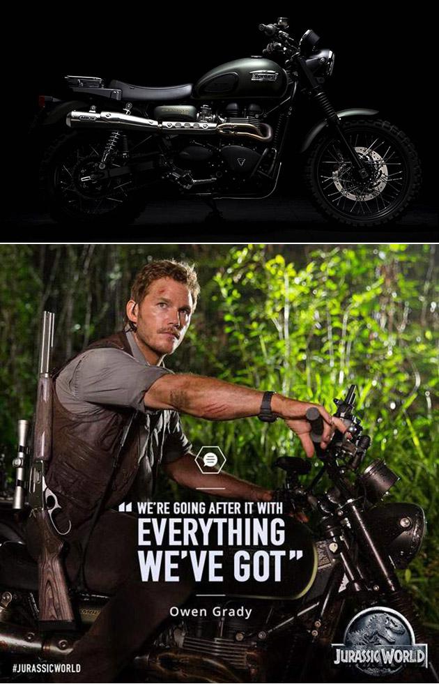 Jurassic World Scrambler Motorcycle