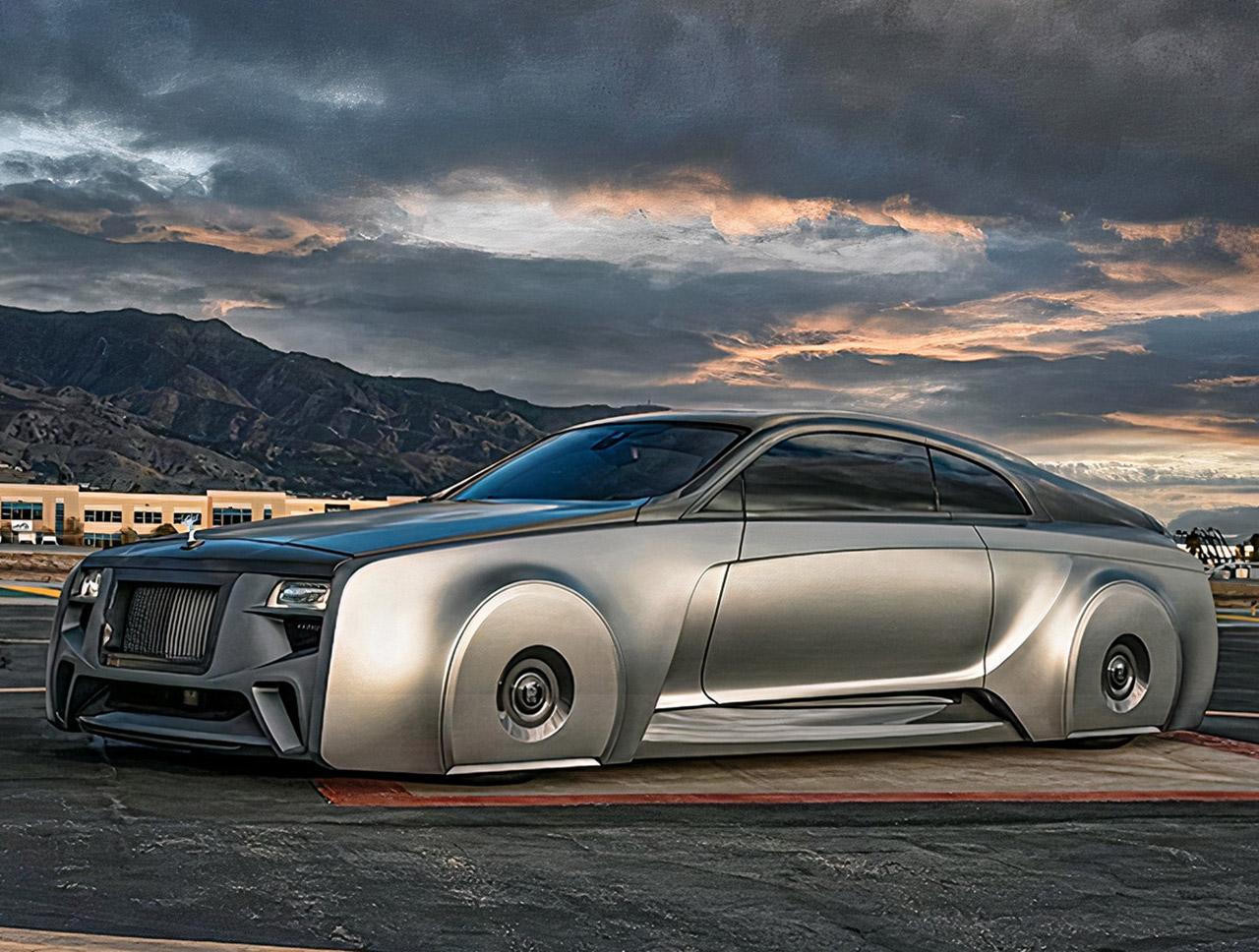 Justin Bieber West Coast Customs Rolls-Royce Wraith 103EX