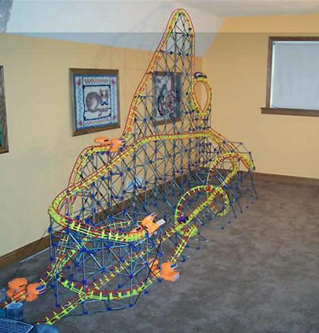 K'NEX Roller Coaster Creations