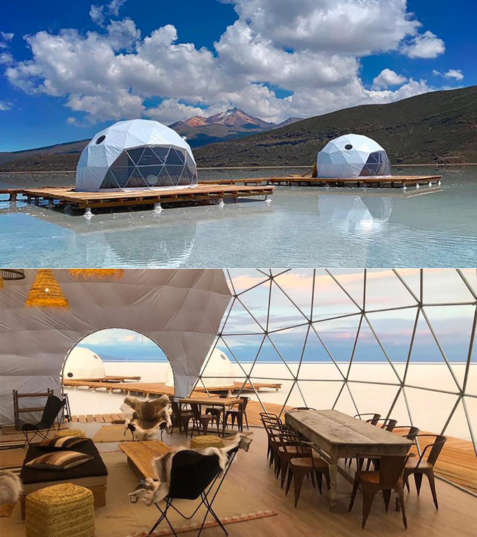Kachi Lodge Salt Flats Bolivia