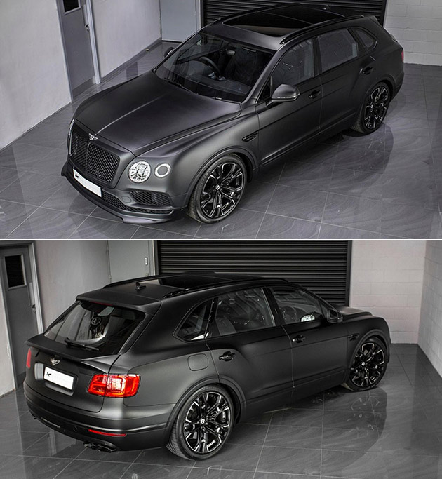 Bentley Bentayga: Kahn Bentley Bentayga Le Mans Edition Has Blacked Out