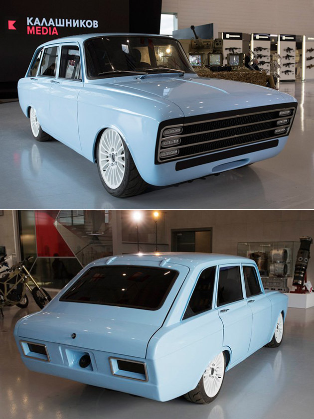 Kalashnikov CV-1 Electric Car