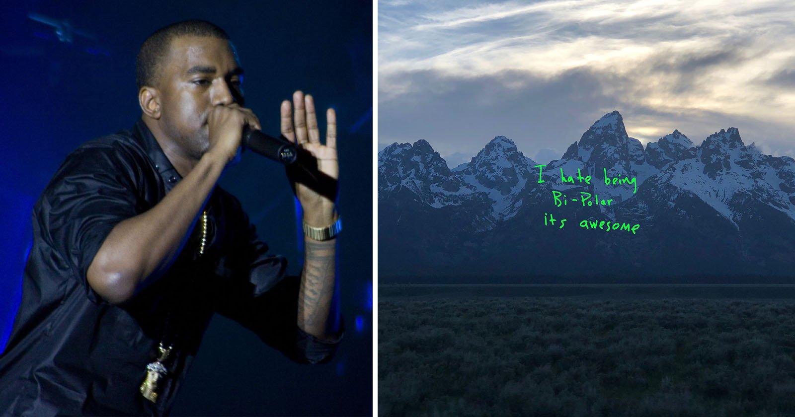 Kanye Ye Album Cover