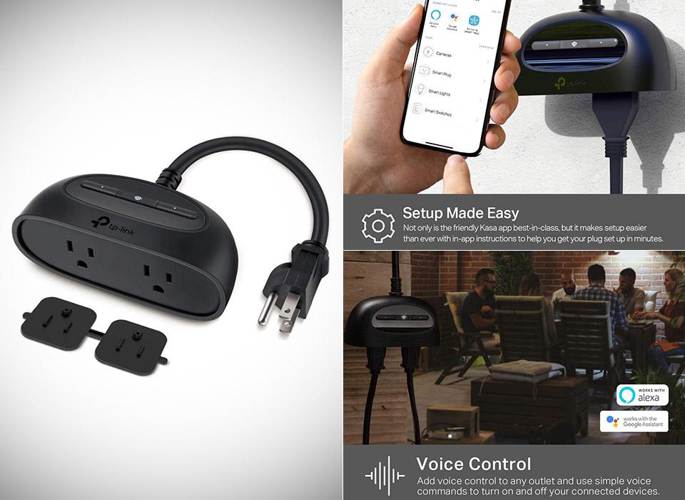 Kasa Smart KP400 Outdoor WiFi Plug
