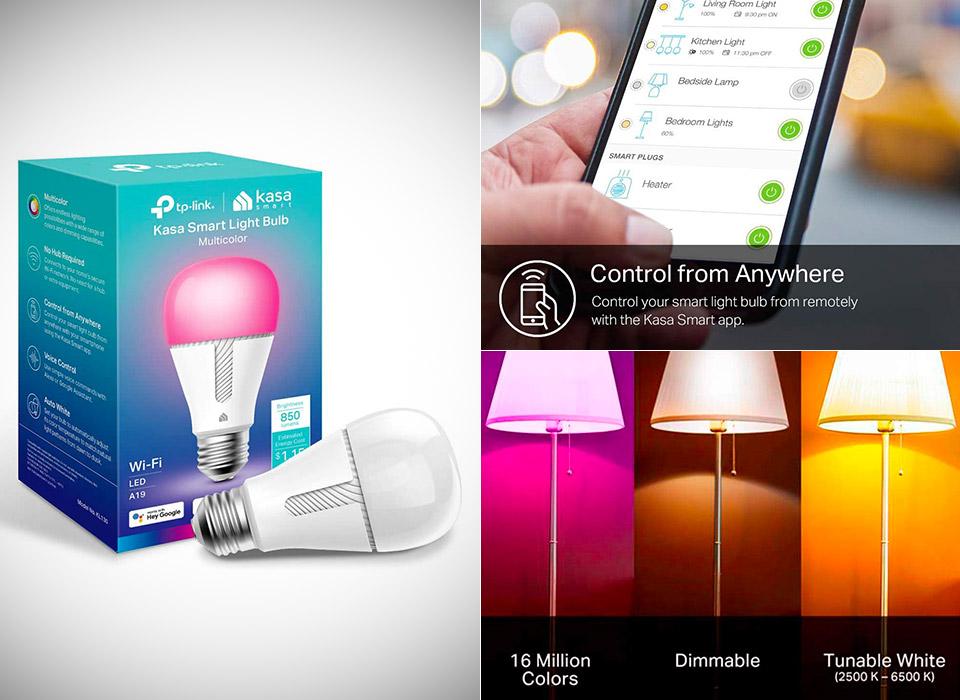 Kasa Smart WiFi LED Light Bulb KL130