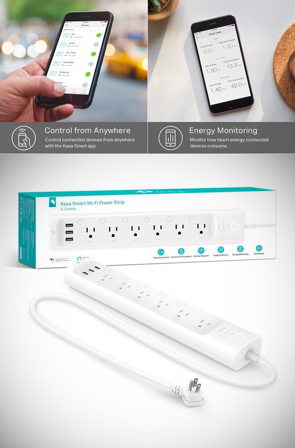 KASA Smart WiFi Power Strip