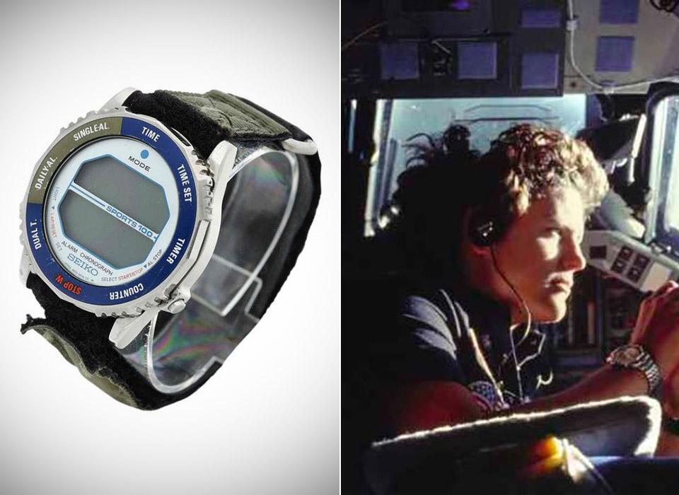 Kathryn D. Sullivan NASA Astronaut Seiko Watch Space