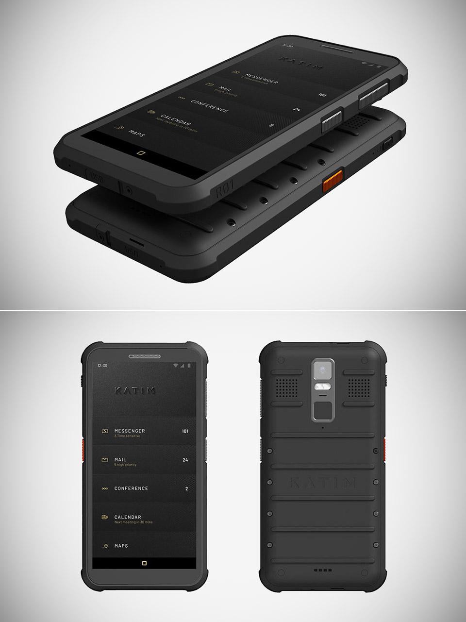 Katim R01 Secure Smartphone