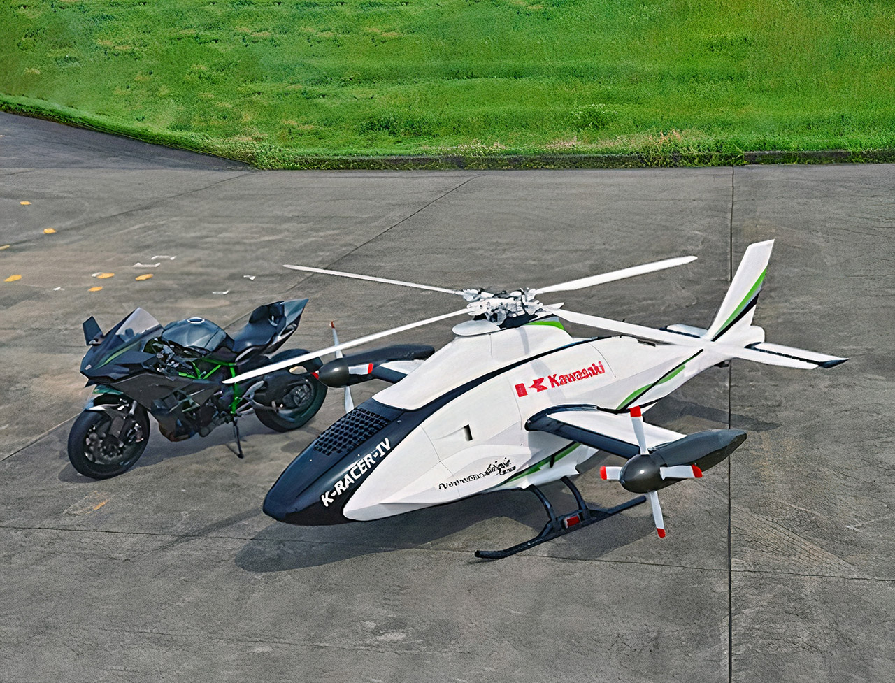 Kawasaki K-Racer Helicopter