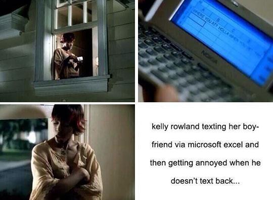 Kelly Rowland Excel