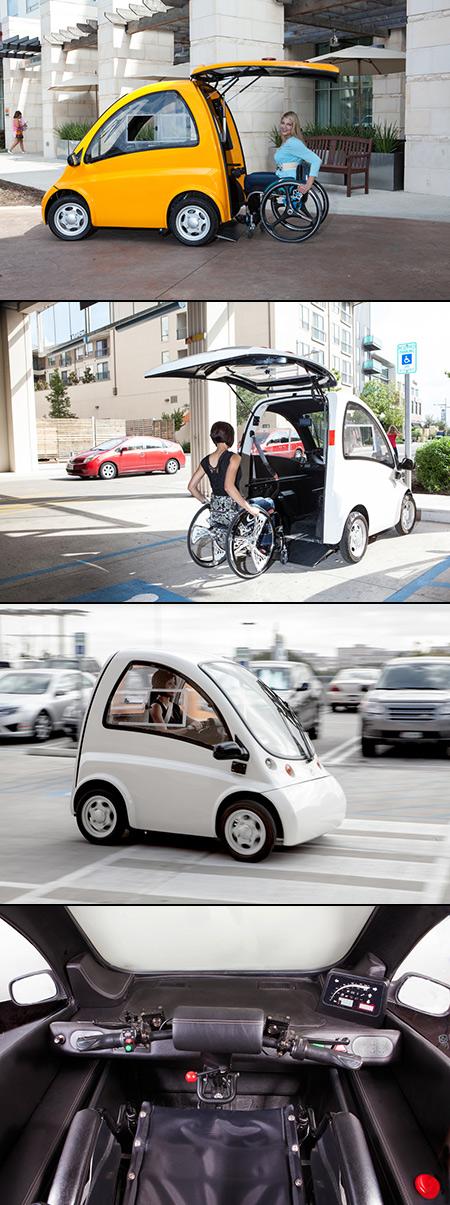 Kenguru Wheelchair Car
