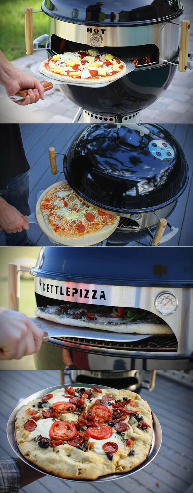 KettlePizza Grill Oven