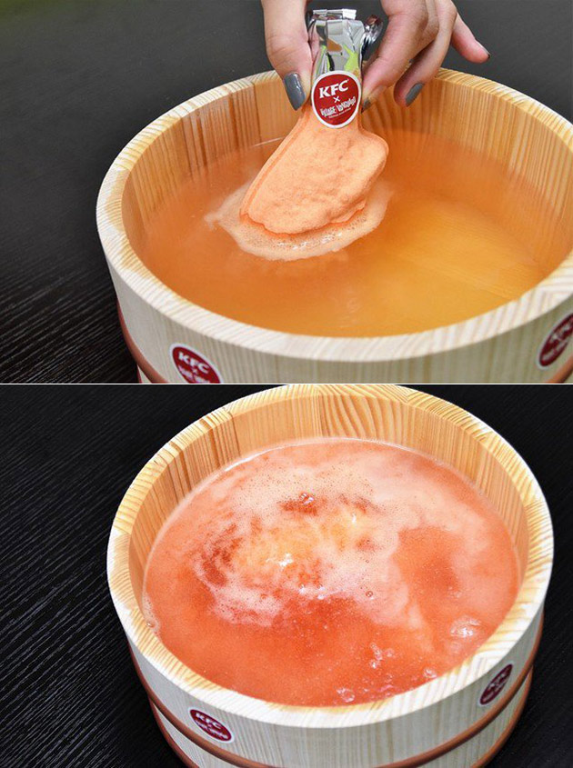 KFC Bath Bomb