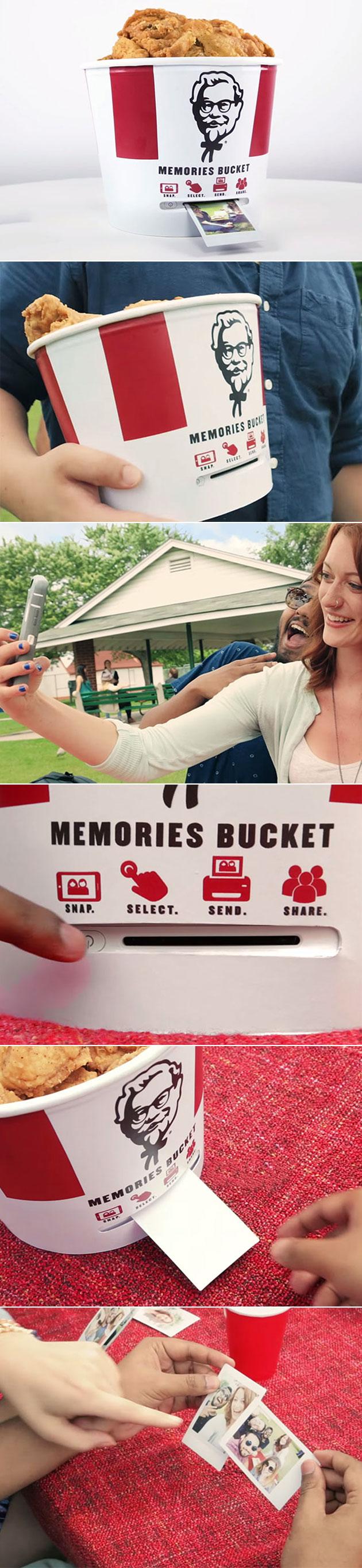 KFC Bucket Photo Printer