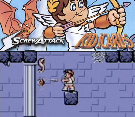 Unlike Its NES Predecessor Kid Icarus Of Myths And Monsters Is A Platform Action Style Game In Which Scrolling Can Occur All Directions