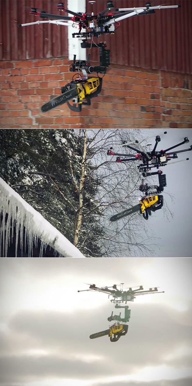 Killer Drone Chainsaw