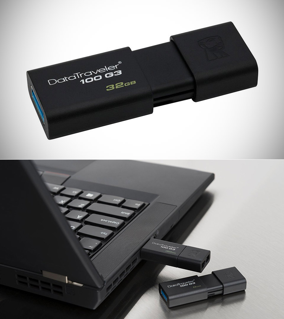 Kingston 32GB DataTraveler 100 USB Drive