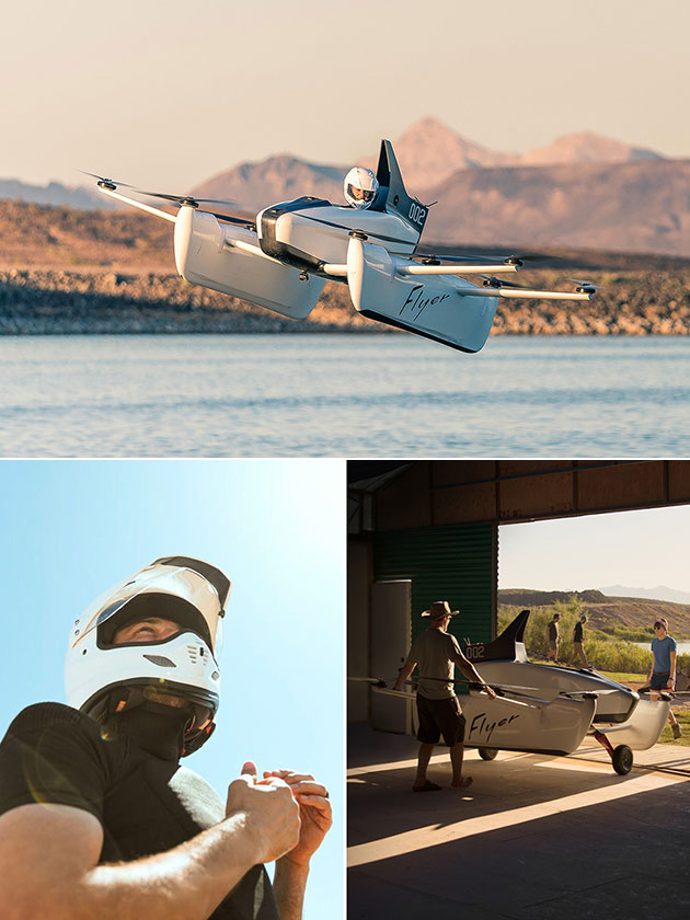 Kitty Hawk Flyer Single Passenger Electric Plane Backed by Google Co-Founder Larry Page, Becomes a Reality