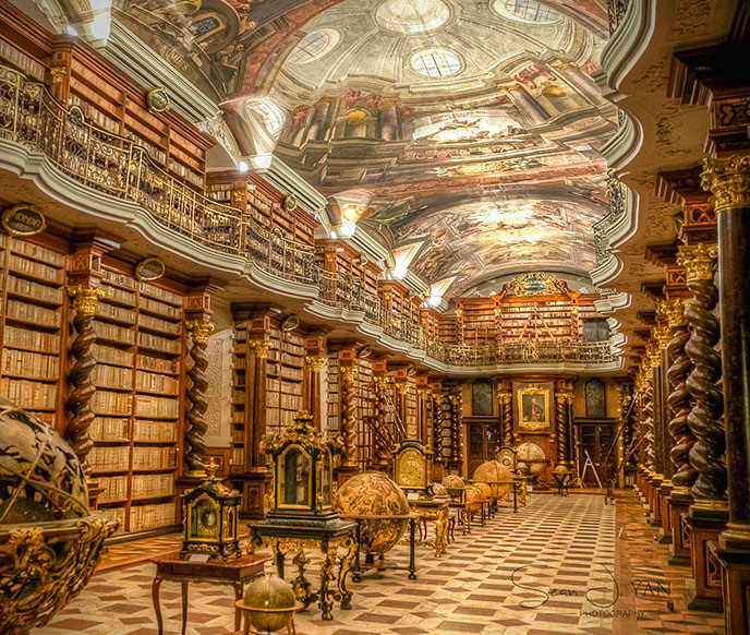 Klementium Library Prague Most Beautiful