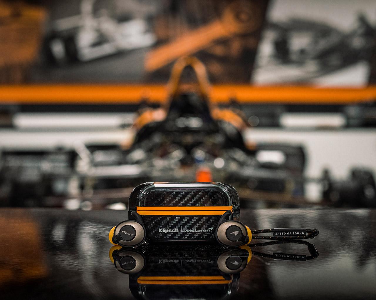 Klipsch T5 II Wireless Sport McLaren Edition