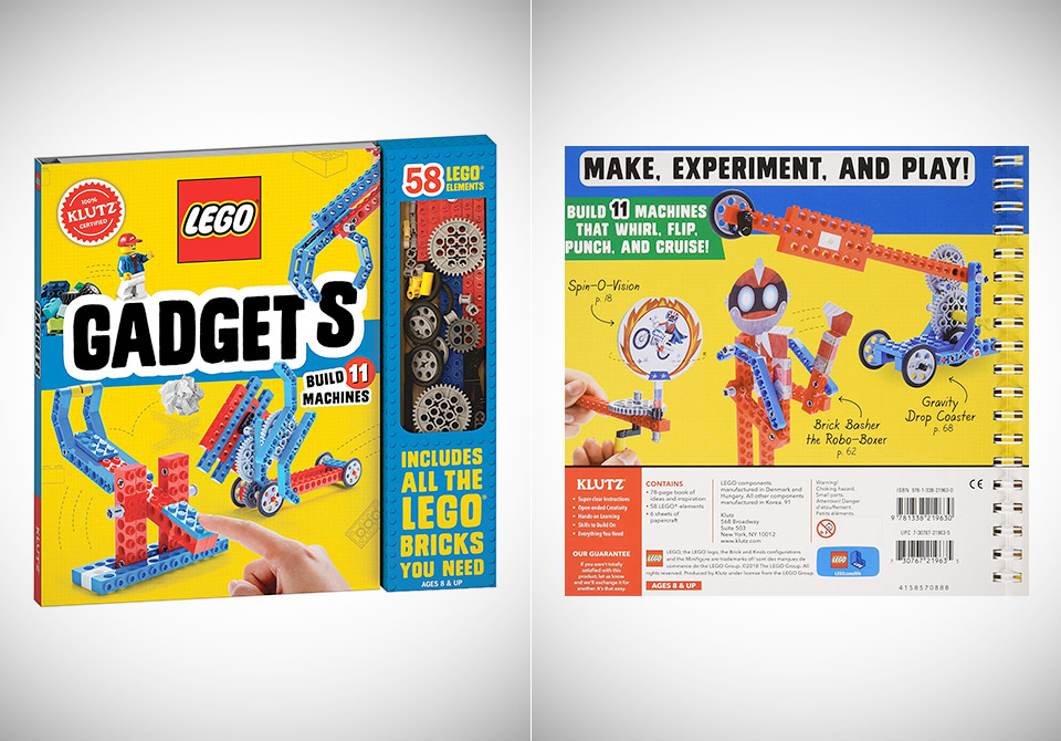 Klutz LEGO Gadgets Science Activity Kit