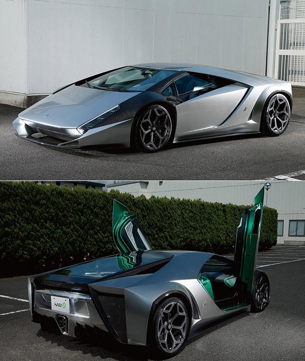 Kode 0 est un One-of-a-Kind Lamborghini Aventador Construit par Ken Okuyama